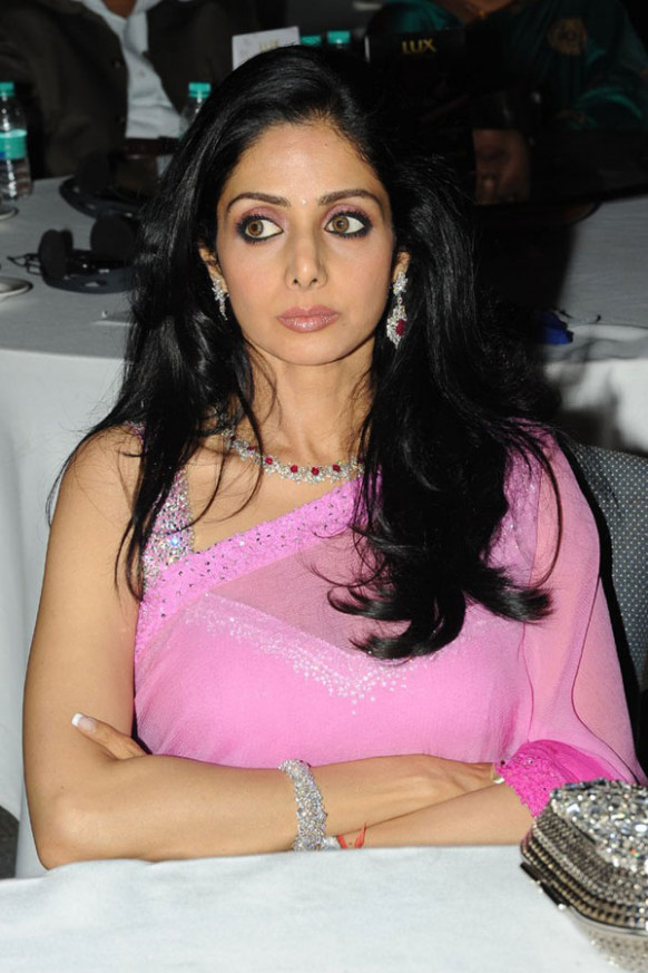 Actress Sridevi @ South Scope Cine Awards - Tollywood to ...