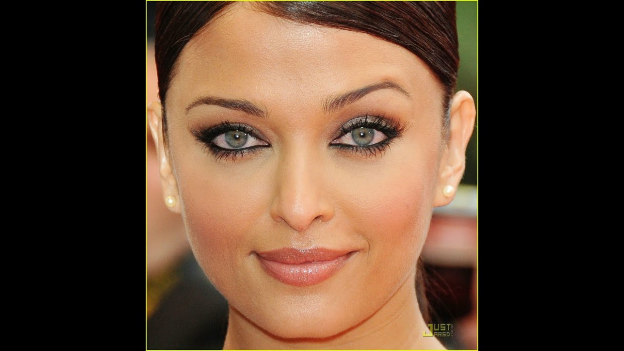 Aishwarya Rai Inspired Full Face Makeup Tutorial - YouTube