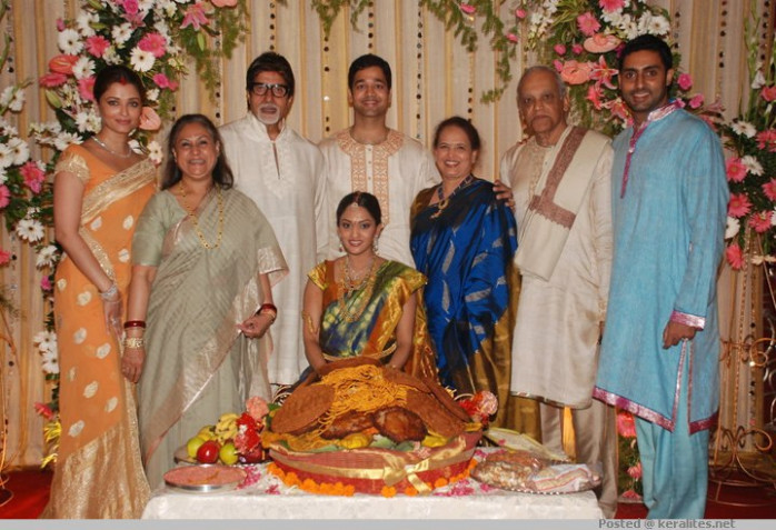 Aishwarya Rai's Sister Wedding Photos