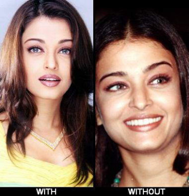 Aishwarya rai without makeup |Bridal Makeup