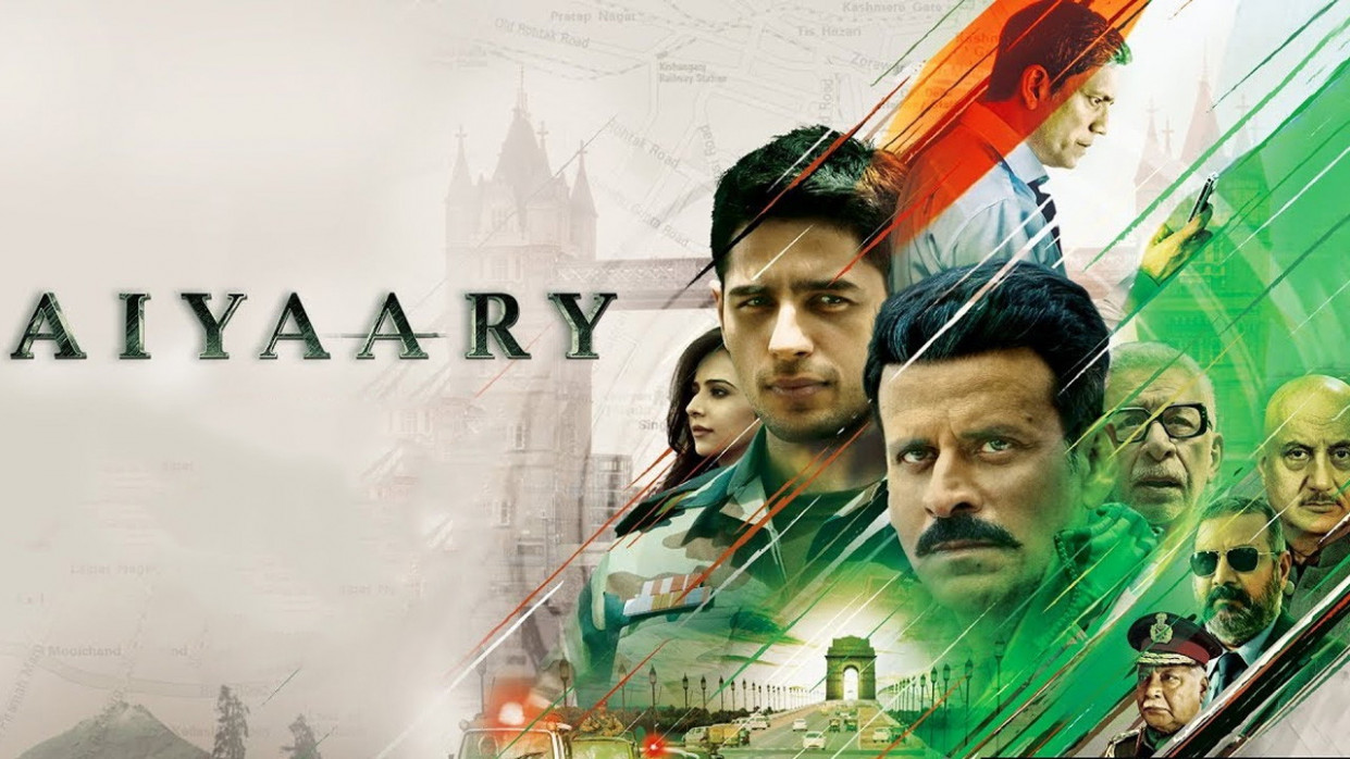 Aiyaary 2018 Hindi Movie 650MB DVD-Rip x264