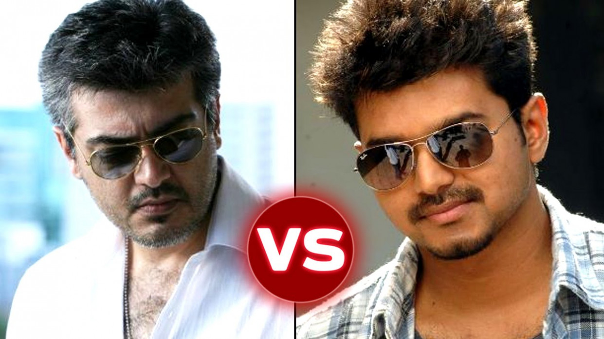 Ajith Kumar VS Vijay - Top Tollywood Actors of All Time ...