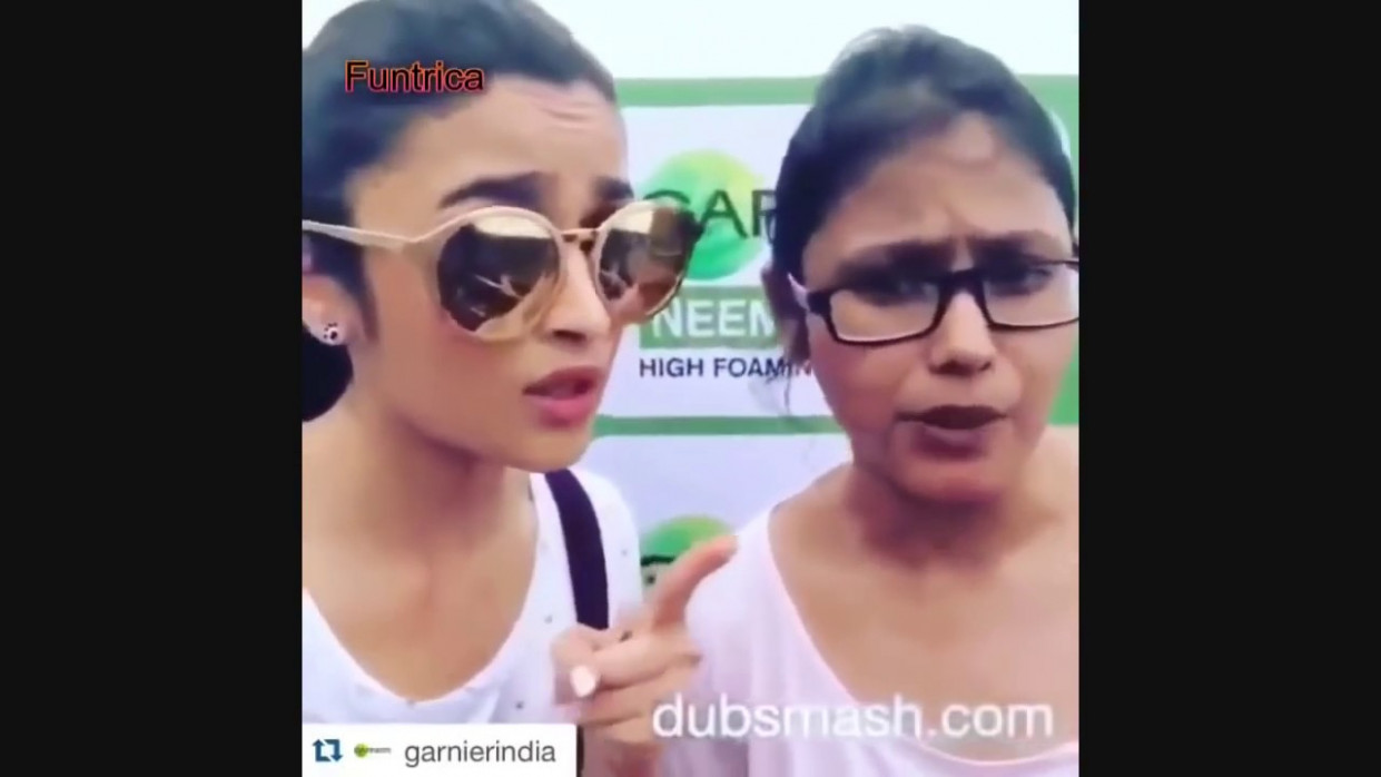 Alia Bhatt - Funny Video - Latest Bollywood Dubsmash ...