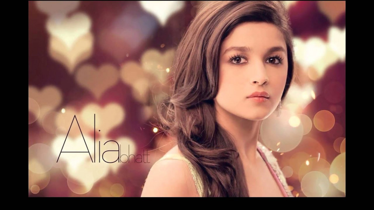 Alia Bhatt Indian Bollywood Actress HD Wallpapers Video ...