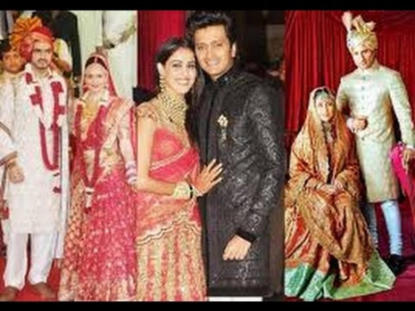 ALL BOLLYWOOD WEDDING AND COUPLES MUST SEE - YouTube
