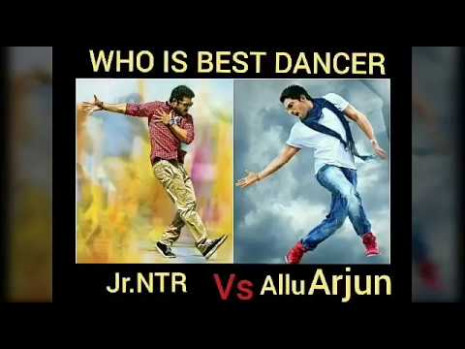 Allu arjun vs jr ntr dance || who is the best dancer in ...