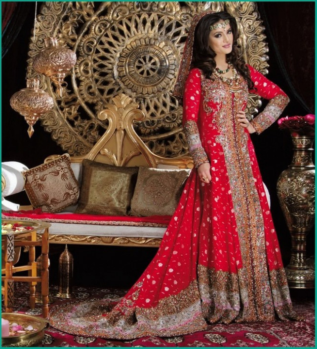 Amazing And Stunning Pakistani Bridal dresses - Top Pakistan