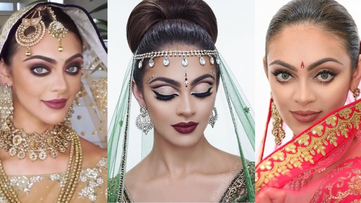 Amazing Indian Bollywood Bridal MakeUp Compilation ...