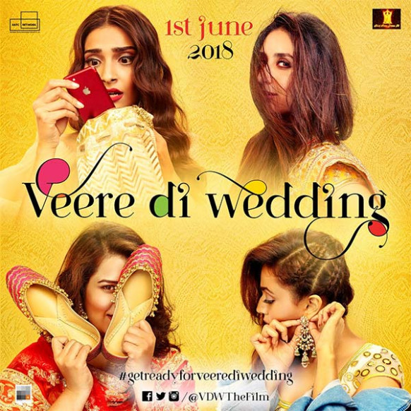 Amidst wedding rumours, Sonam Kapoor reveals a new poster ...