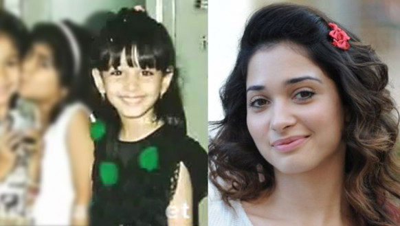 Anushka childhood photos,Samantha childhood photo,Thammana ...