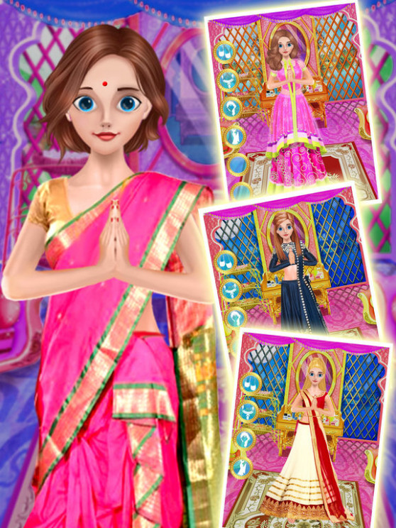 App Shopper: Indian Bridal Fashion Girl Wedding Makeover ...