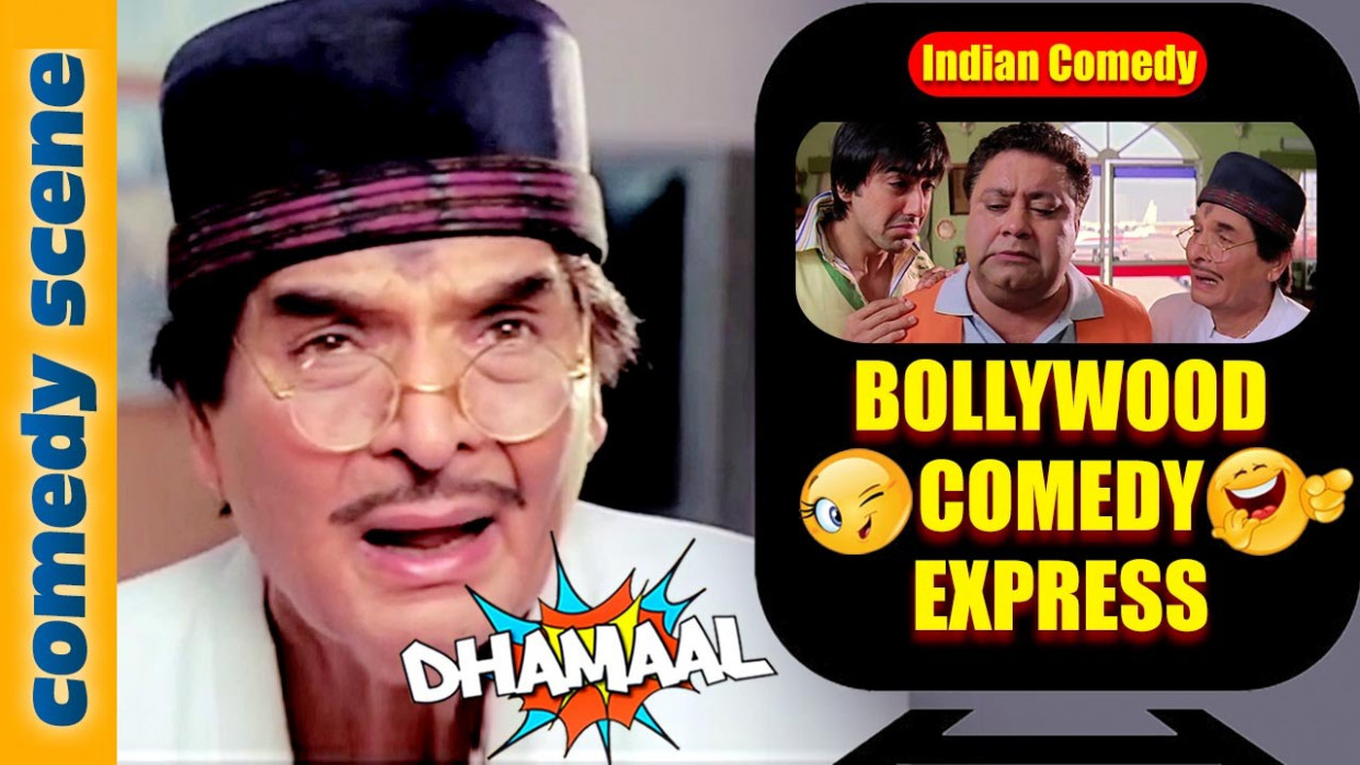 Asrani Comedy HD | Bollywood Comedy Express | Dhamaal ...