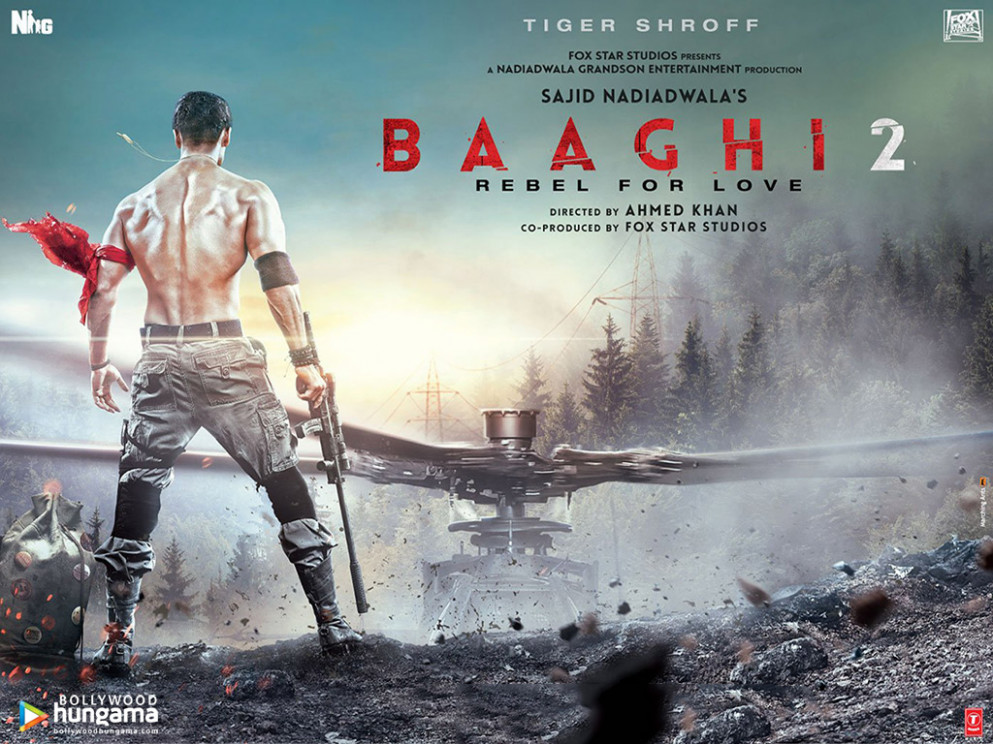 Baaghi 2 2018 Wallpapers | baaghi-2-6 - Bollywood Hungama - bollywood movie wallpaper