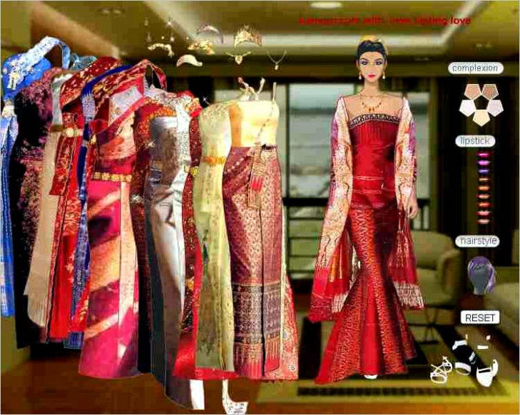 Barbie Indian Saree Wedding Dress Up Games - Wedding ...