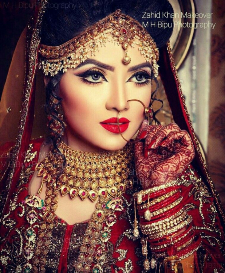 Beautiful Bangladeshi bride actress Ishika Khan. | Indian ...