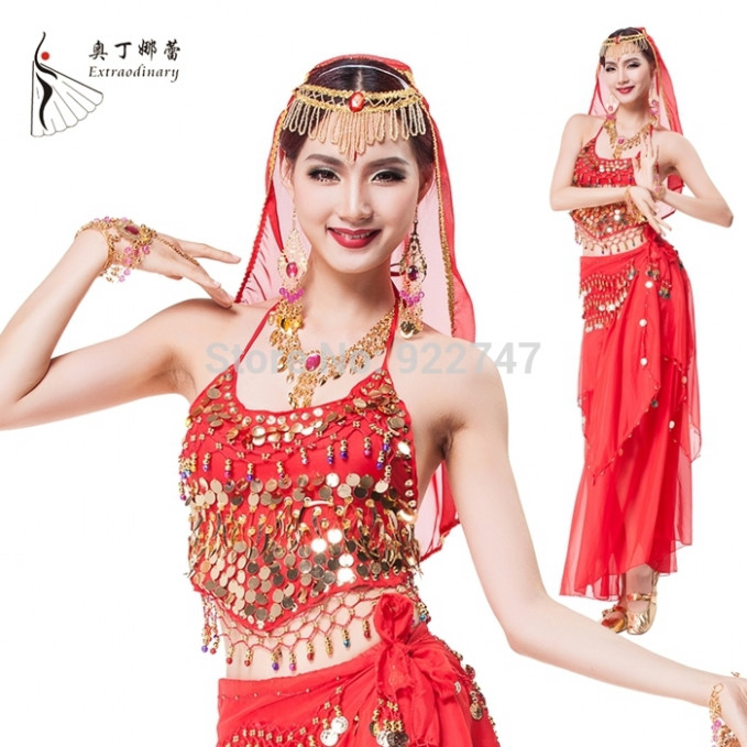 Belly Dance Performance Costume for Women Bollywood Dance ...