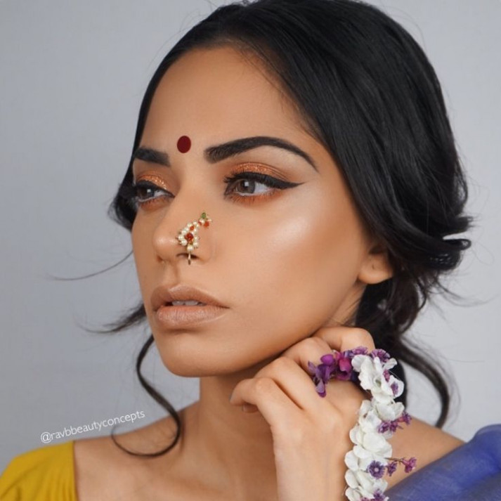 Best 20+ Indian Bridal Makeup ideas on Pinterest | Indian ...