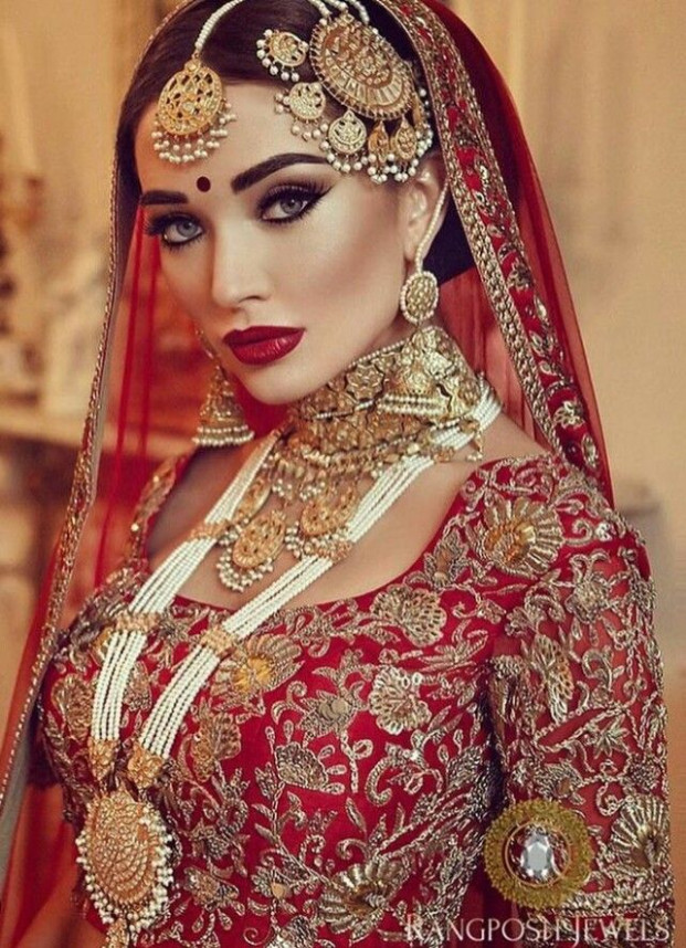 Best 25+ Indian bridal makeup ideas on Pinterest | Indian ...