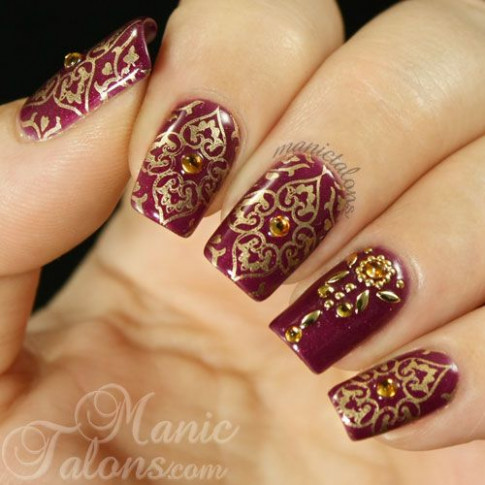 Best 25+ Indian nail art ideas on Pinterest | Indian nail ...