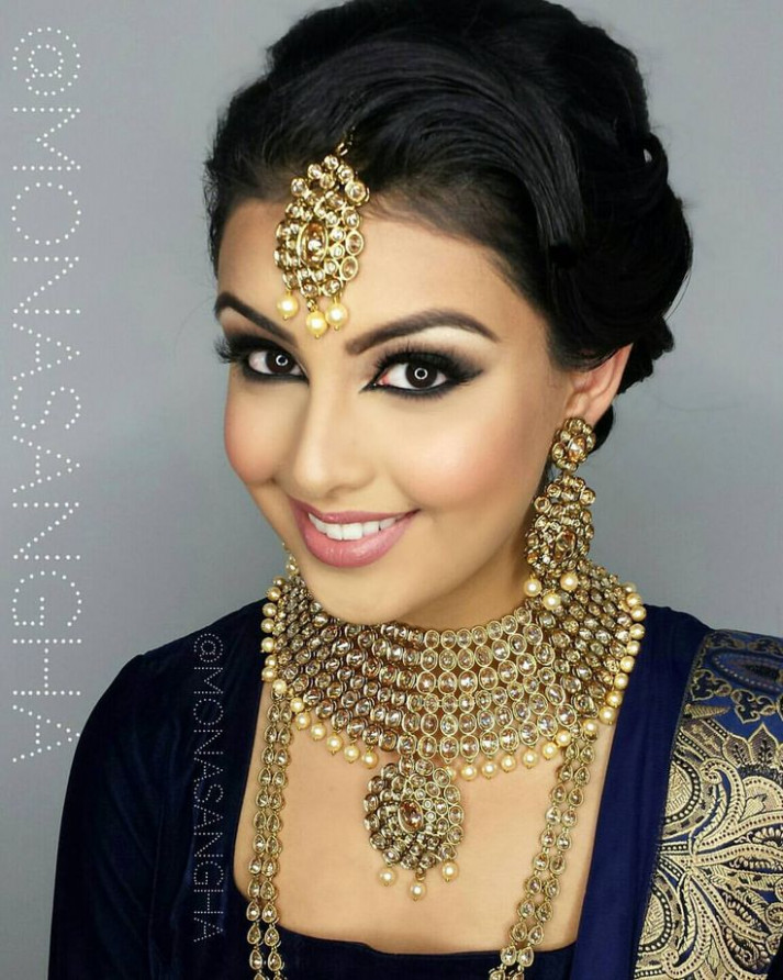 Best 25+ Indian wedding makeup ideas on Pinterest | Indian ...