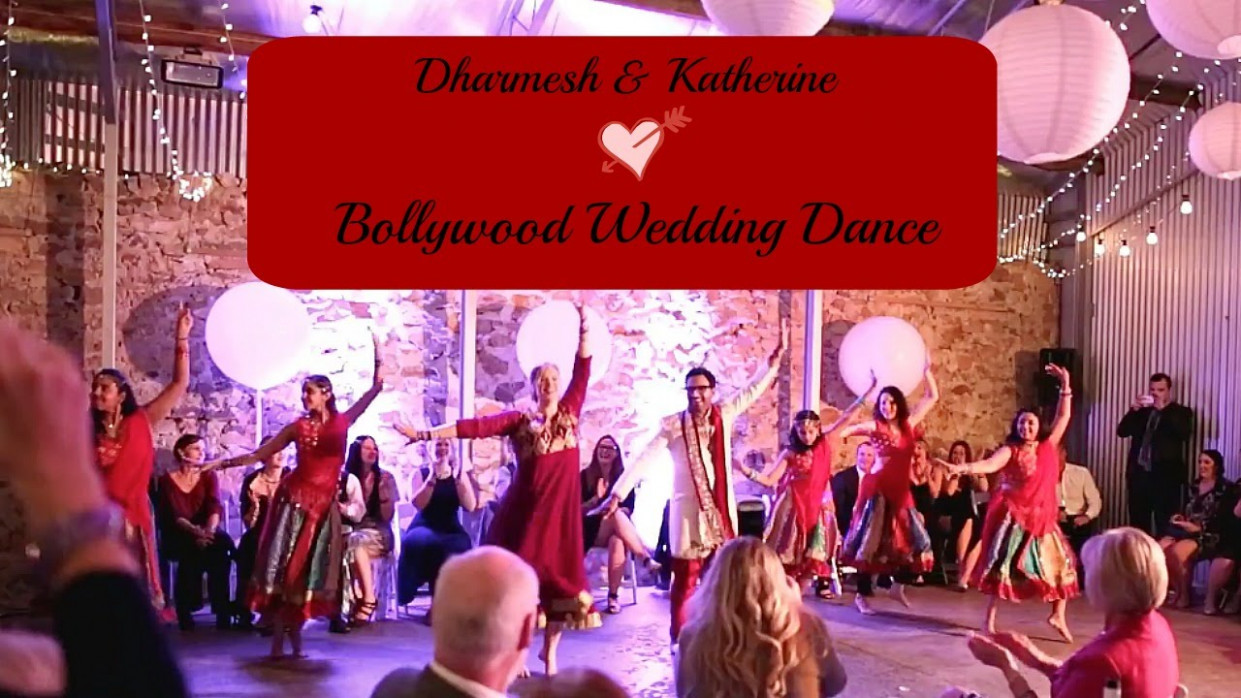 Best Bollywood Wedding Dance || Dharmesh & Katherine ...