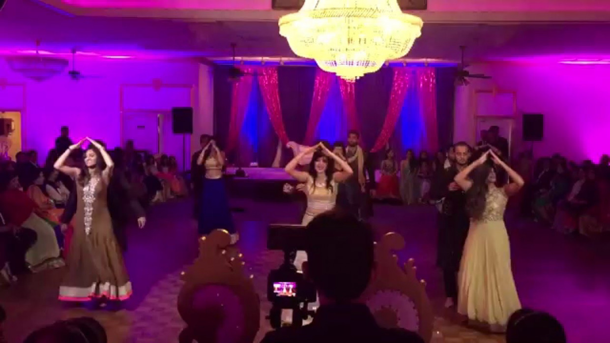 Best Bollywood Wedding Sangeet Dance Script! Naushin and ...