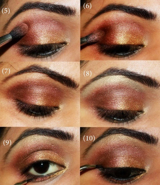 Best Indian Bridal Eye Makeup Step By Step Pictorial ...