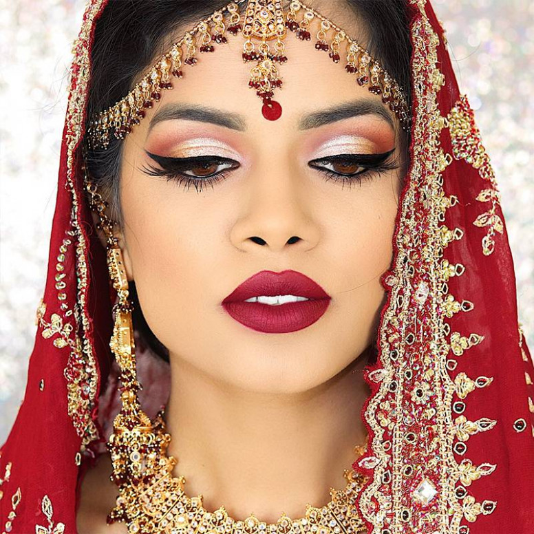 Best Indian Bridal Makeup Tutorials With Step By Step ...