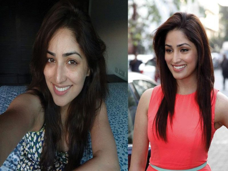 Best Looking Female Celebrities Without Makeup | Saubhaya ...