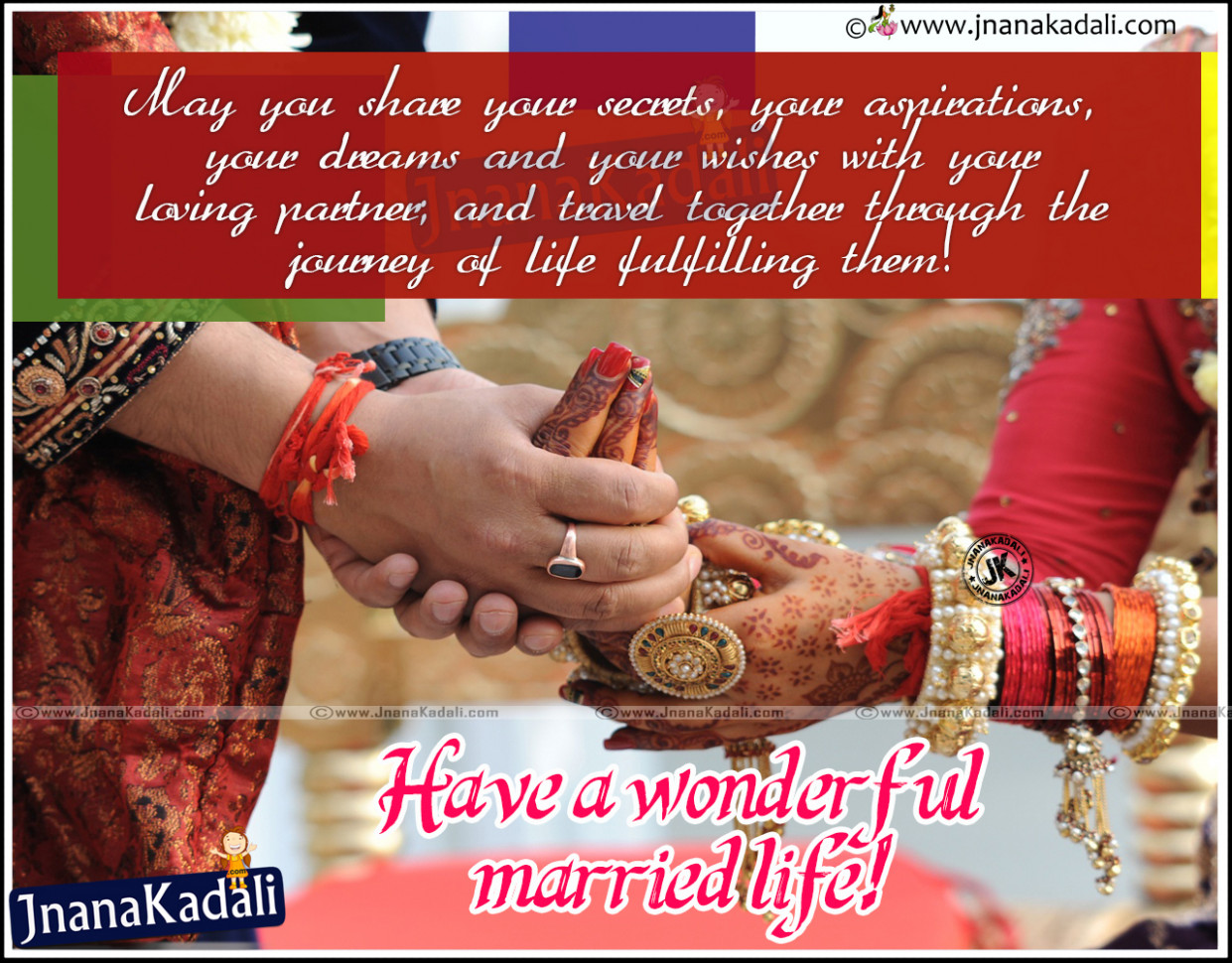 Best Marriage wishes and Quotes Images | JNANA KADALI.COM ...