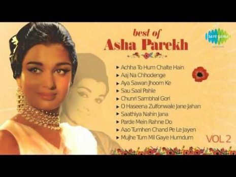 Best Of Asha Parekh - Old Hindi Songs - Bollywood Songs ...