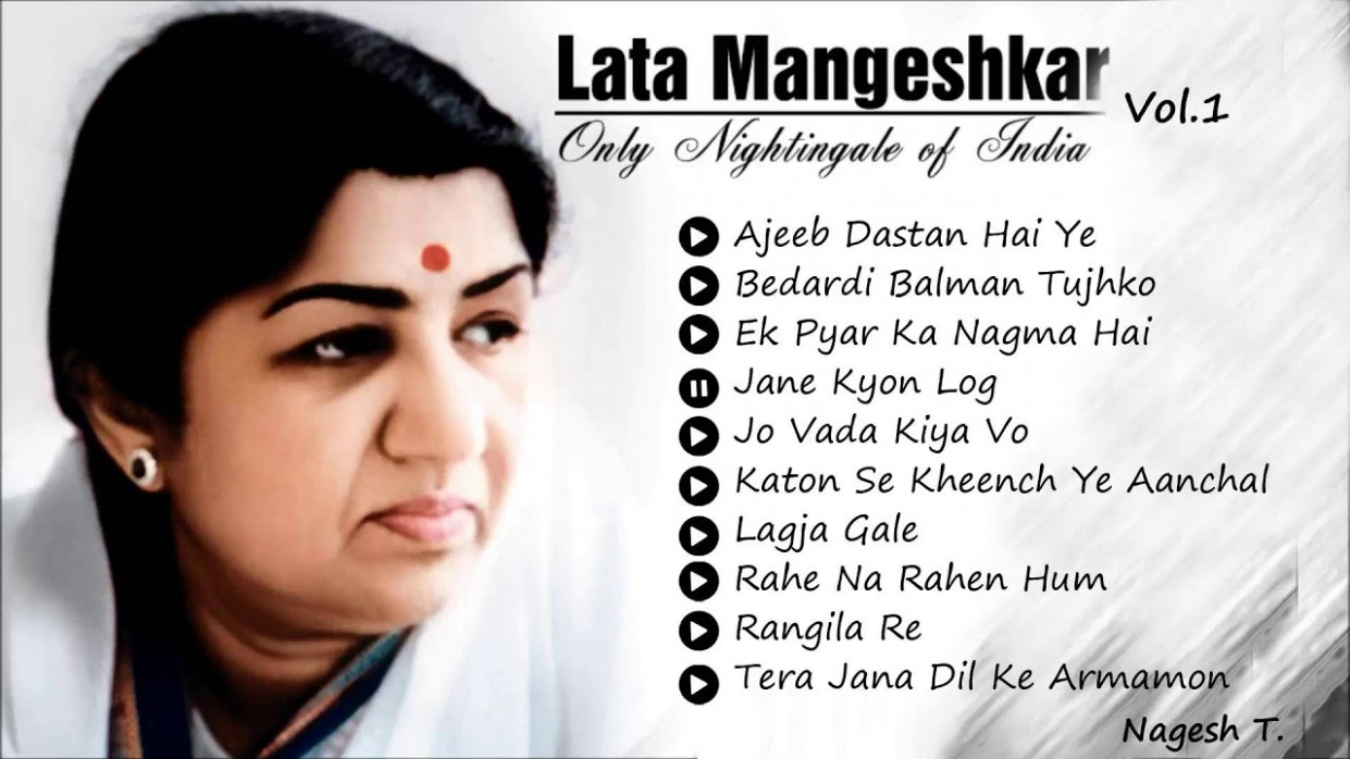 Best Of Lata Mangeshkar - Old Hindi Instrumental Songs ...