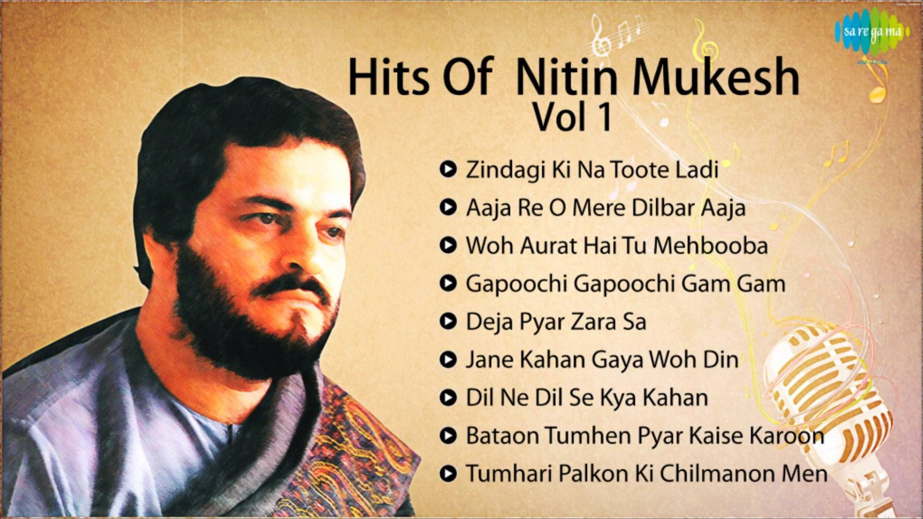 Best Of Nitin Mukesh - Best Bollywood Collection - Old ...