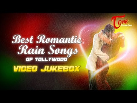 Best Romantic Rain Songs of Tollywood Video Jukebox - YouTube
