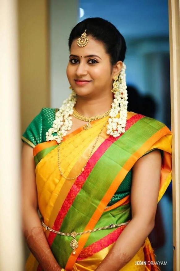 Best South Indian Bridal Makeup For Reception # ...