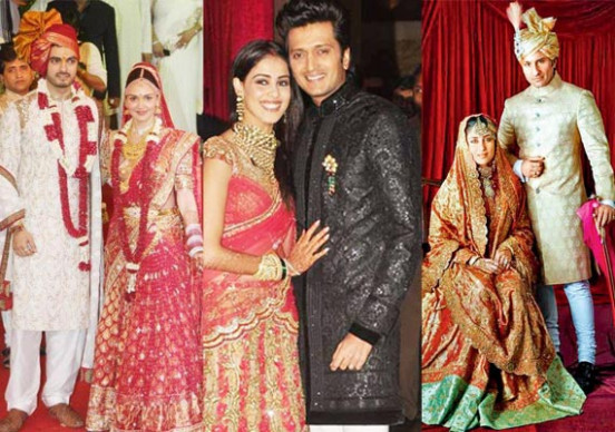 Big Bollywood weddings of 2012
