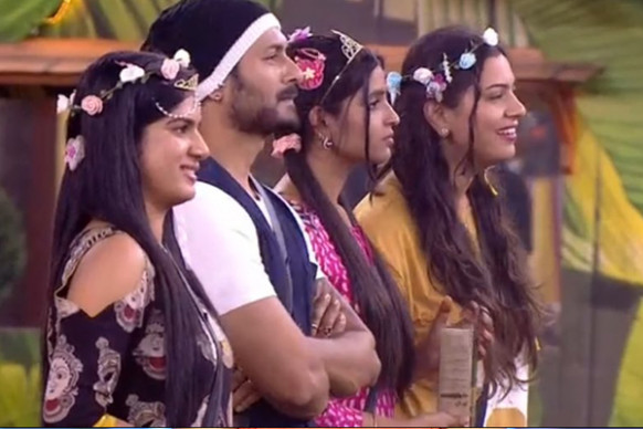 Bigg Boss 2 : housemates dance to Tollywood songs