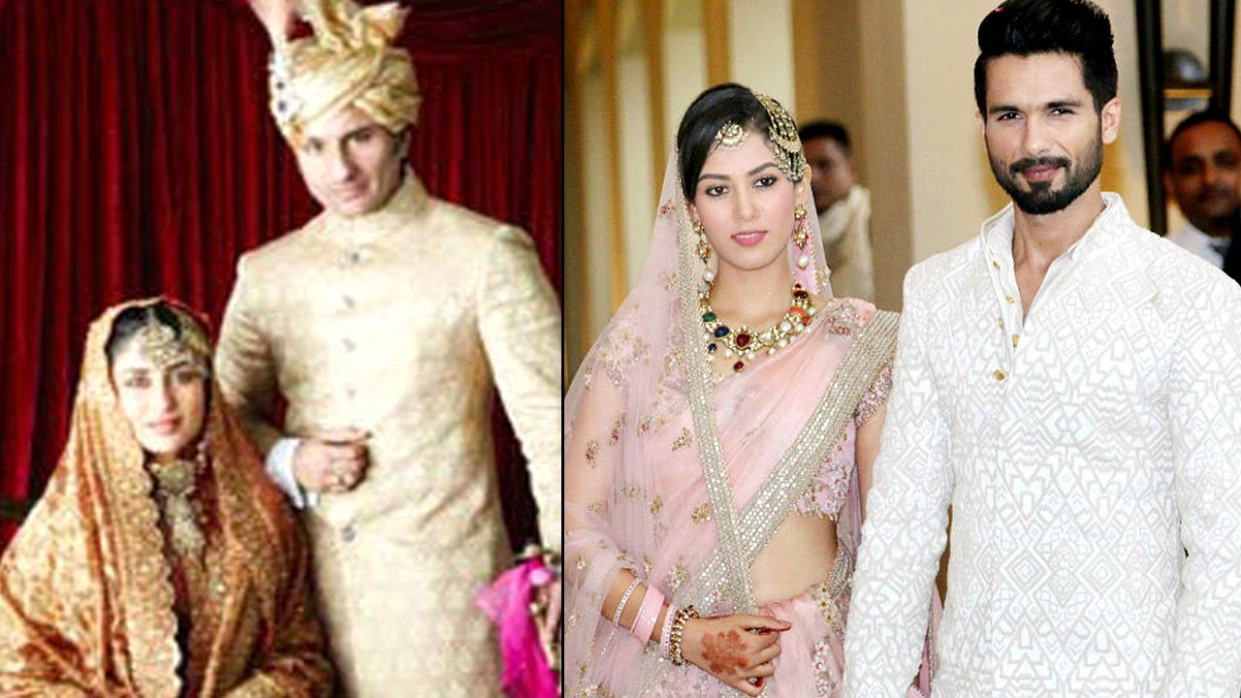 Biggest Bollywood Weddings | Shahid Kapoor & Mira Rajput ...