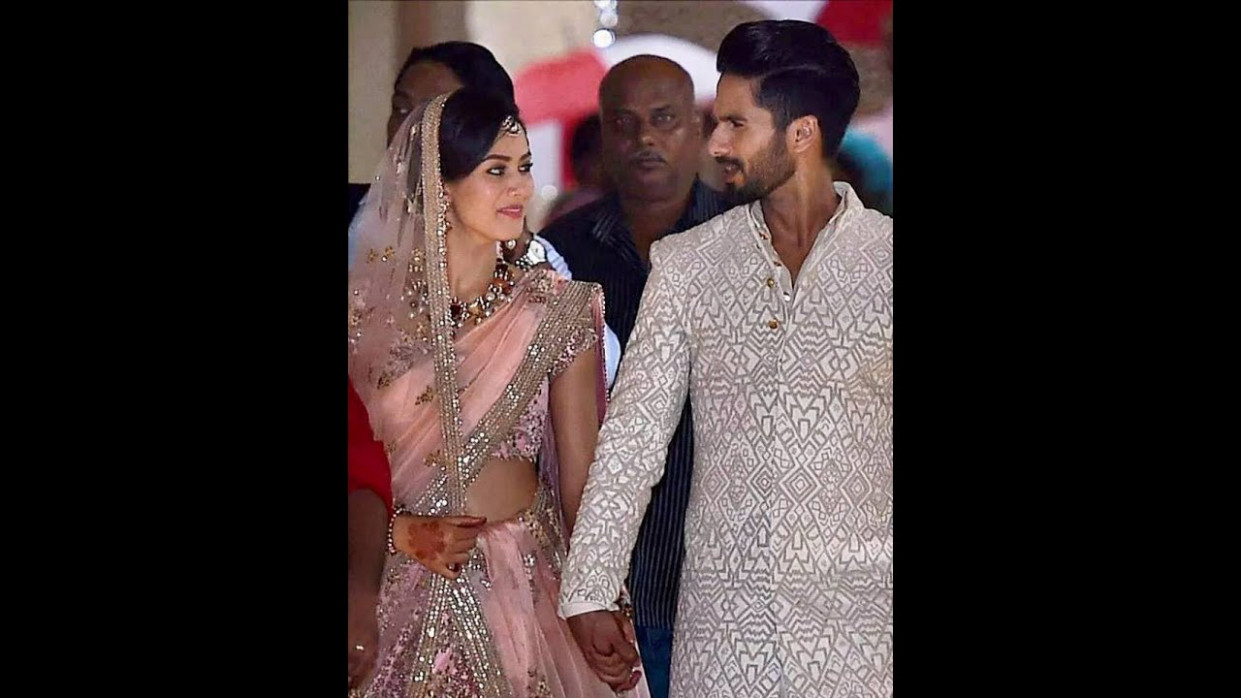 Bollywood actor Shahid kapoor wedding (full video) - YouTube