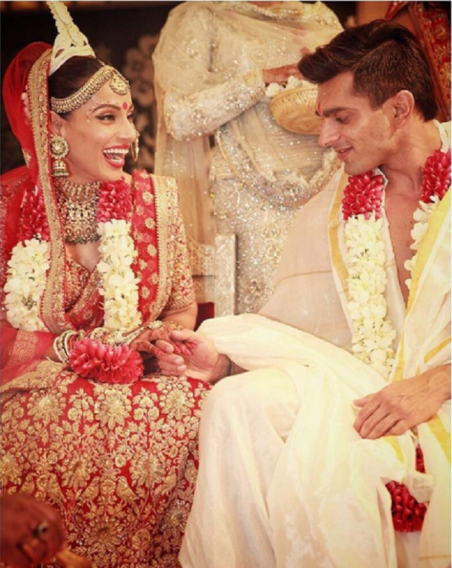 Bollywood Actress Bipasha Basu And Karan Singh Wedding Photos