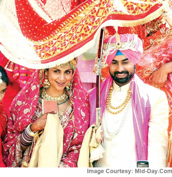 Bollywood Actress Gul Panag Marriage Photos - Latest ...