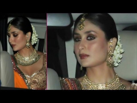Bollywood Actress Kareena Kapoor's Bridal Makeup ...