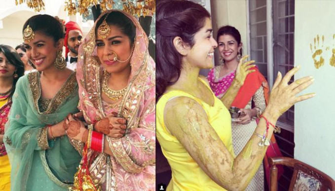 Bollywood Actress Nimrat Kaur's Sister Got Married In ...