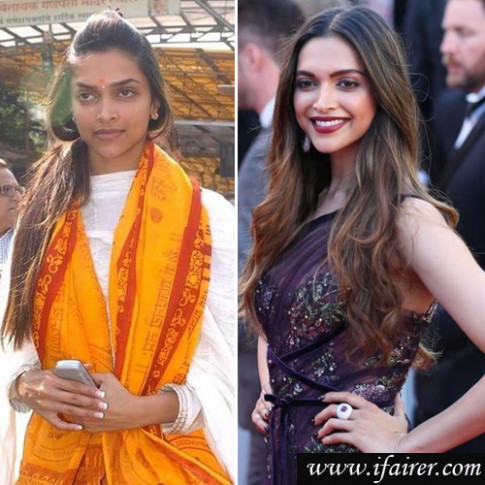 Bollywood actress who look unrecognizable without makeup ...