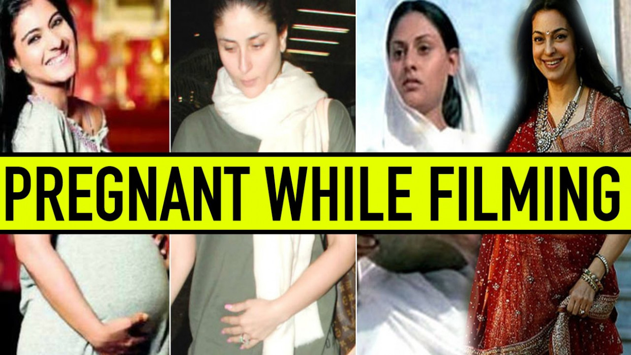 Bollywood Actress Who Were Pregnant During Filming - YouTube