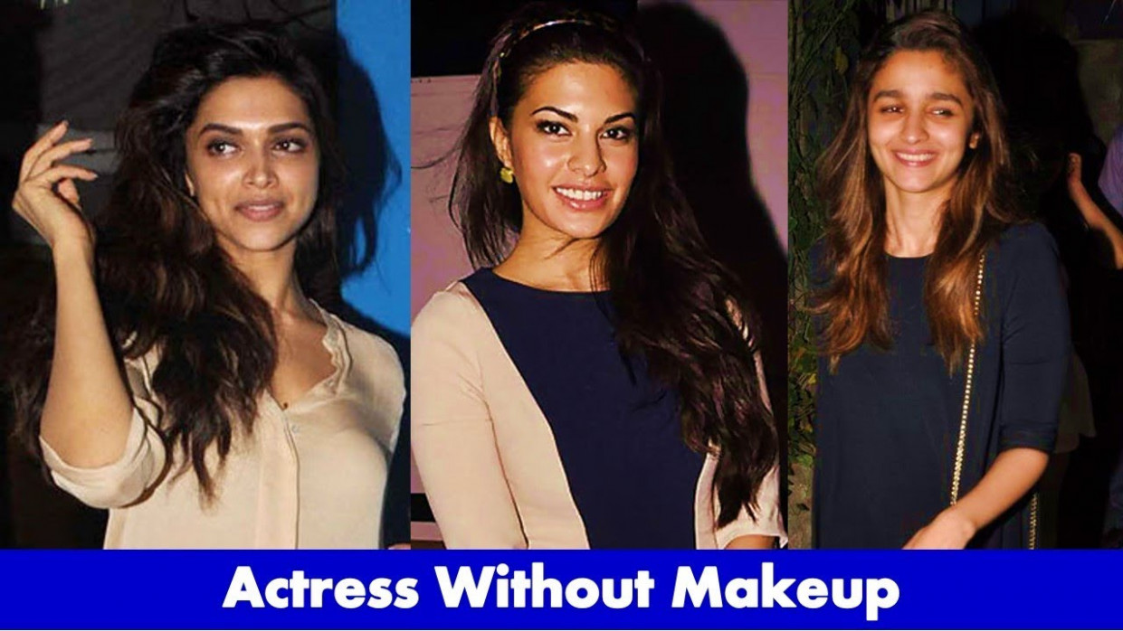 Bollywood Actress Without Makeup 2017 - YouTube