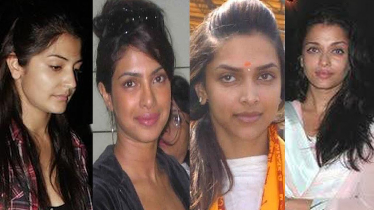Bollywood Actresses Caught without MakeUp in public ...