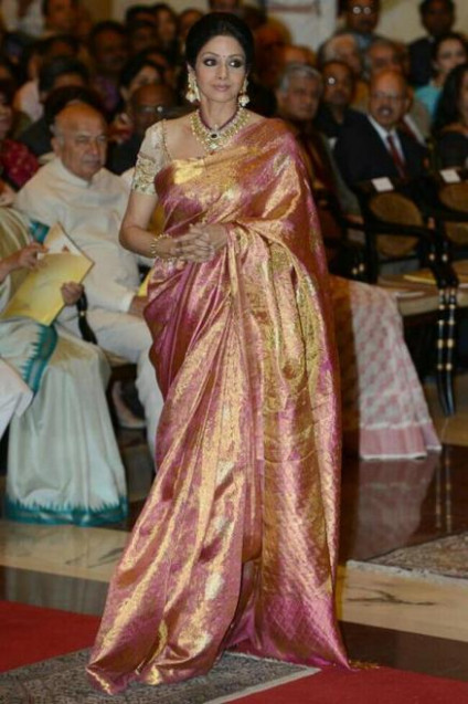 Bollywood Actresses in Kanjivaram Silk Sarees