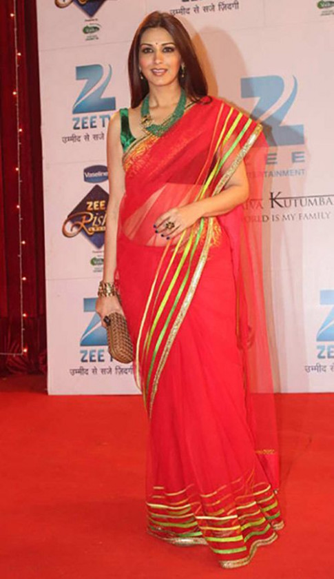 Bollywood Actresses in Sarees - 41 Beautiful Hindi ...