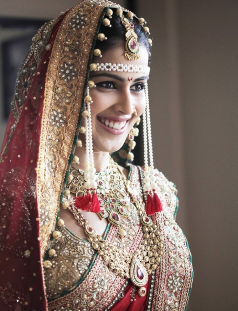 Bollywood actresses in their wedding attire